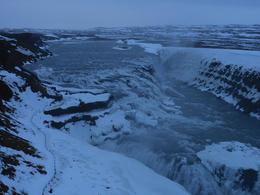Gulfoss waterfall , Illya V - January 2012
