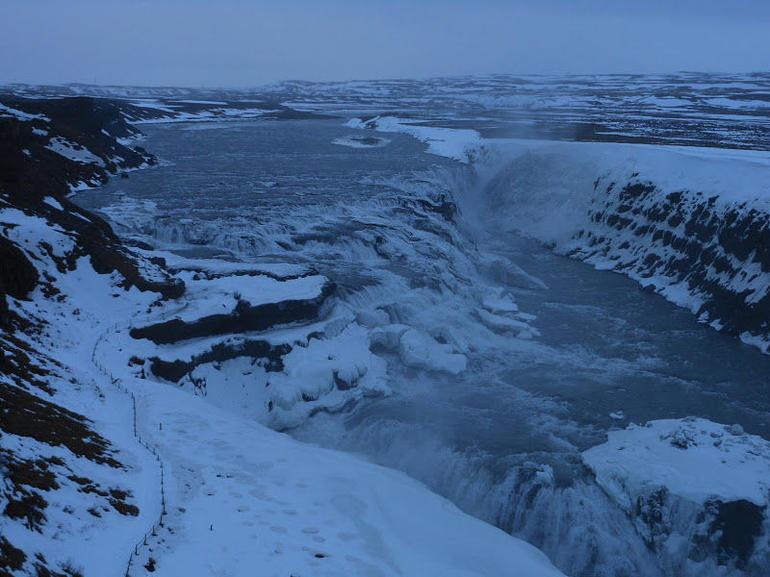 Gulfoss waterfall - Reykjavik