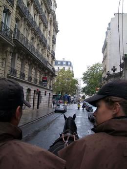 Romantic Horse and Carriage Ride through Paris, Tim W - November 2009