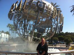 The famous globe!, JennyC - April 2011
