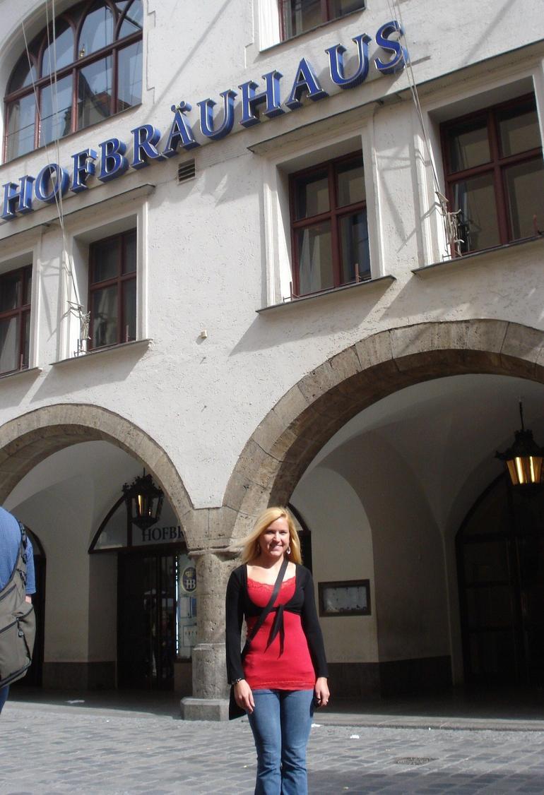 Outside Hofbrauhaus - Munich