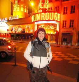 Paris by Night: Moulin Rouge - great place! - November 2011