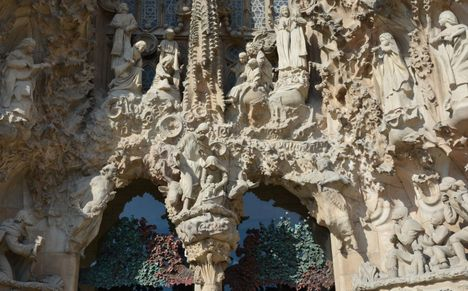 Acc s prioritaire visite de la sagrada familia barcelone barcelona viator - Billet coupe file sagrada familia ...