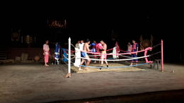Boxing match, comical, very entertaining. , Joan T - December 2014