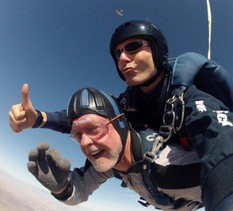 Sky Diving - Las Vegas