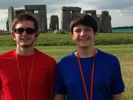 My sons enjoyed their time at Stonehenge. , James N - June 2014