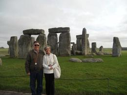 Mr and Mrs at Stonehenge , STEFANIE S - March 2011