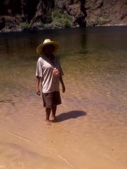 Testing the waters, keokietta - August 2011