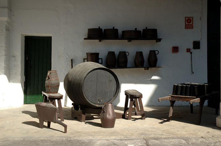 The making of sherry wine, Jerez - Seville