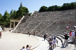 Designed in the 4th century BC this theater has perfect acoustics and will hold approximately 14,000 people. , cab0118 - July 2011