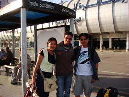 Gene and Khia with their tour guide Mahmoud..., Genesis A - May 2010
