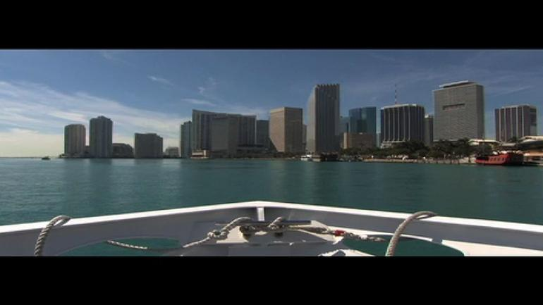 View from Boat, South Beach -
