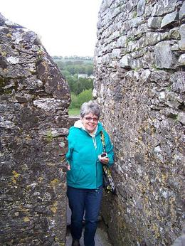 We wound our way up through the castle to the Blarney Stone , Susan G - May 2011