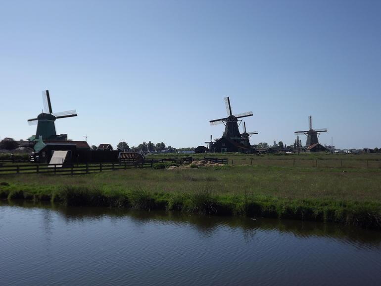 Windmills at Zaanse Schans - Amsterdam