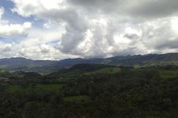 Shortly after leaving Bogota we were greeted by amazing views of the Colombian countryside. - September 2013