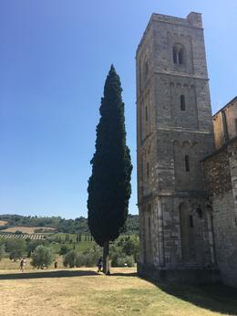 Sant' Antimo Abbey near Montalcino , Sylvie L - November 2016