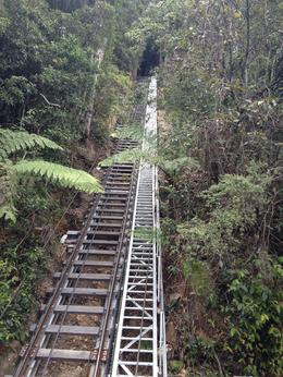 A steep incline to go back up , Maria T - December 2013