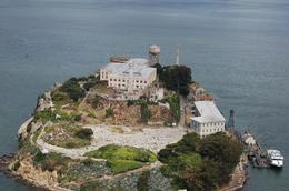 It was amazing to see Alcatraz from an aerial view!, Kristina C - May 2010