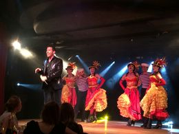 The Cabaret dancers and the host , Boi Kui C - June 2015