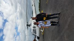 myself Veronique and our awesome pilot . 4 of us were booked for this excursion, and we would like to thank the pilot for this amazing ride in Auckland. SUPER FLIGHT! THUMBS UP! , vero - December 2015