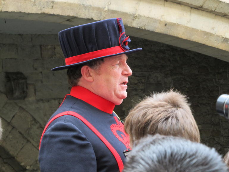 Billy the Beefeater - London