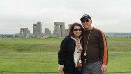 Jim and Gail Stonehedge 20May12 , Jim M - May 2012