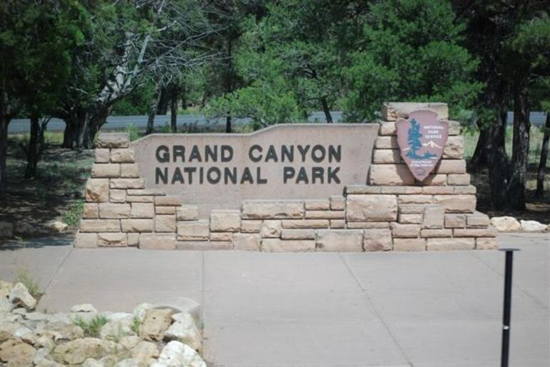 Entrance to Grand Canyon Park - Las Vegas