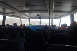 Lite gråmulen rundtur på Themsen. Tiden gick fort med den underhållande levande guiden som berättade personligt om allt vi passerade. , Michael N - November 2014
