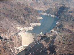 Hoover Dam view from the helicopter., DAWN M B - September 2008