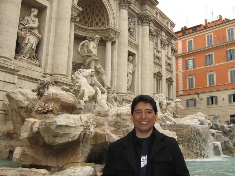 Fontana di Trevi. April 2010 - Rome