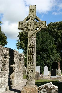 One of the many crosses at Monasterboice, Jacqueline B - September 2010