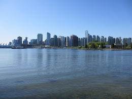 View of downtown Vancouver , Ann - May 2012