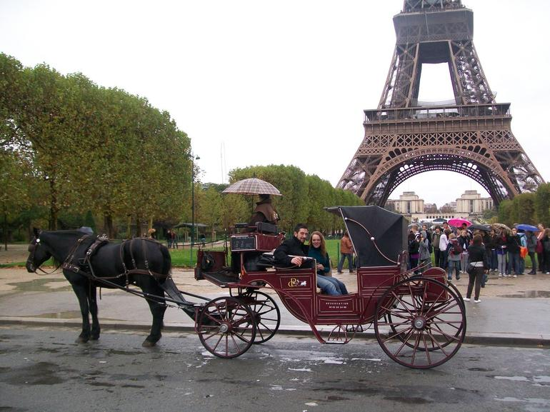 In front of the Eiffel Tower #1 - Paris