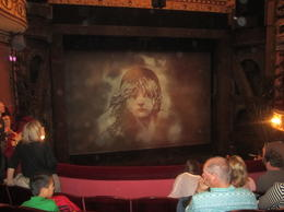View of the stage during intermission , LeaAnne E - April 2012