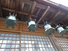 Kasuga Shrine - lanterns, Krishnan Vaitheeswaran - April 2010