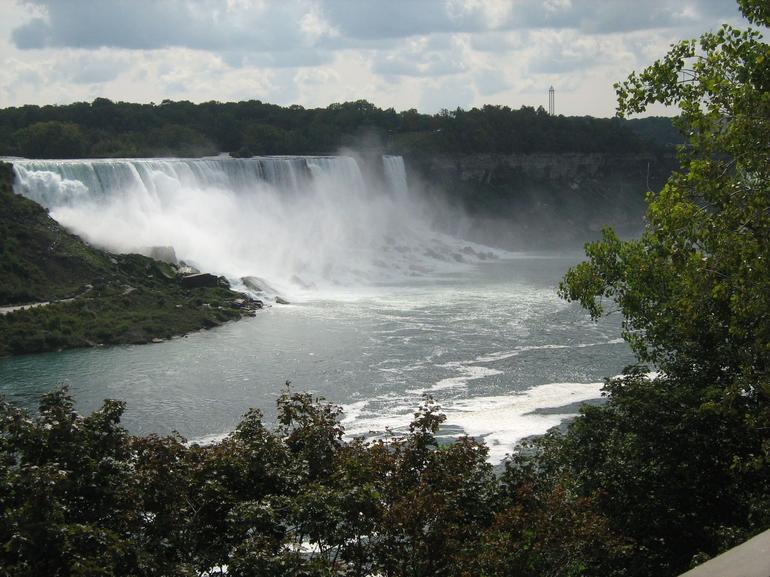Niagara Falls from road - Niagara Falls & Around