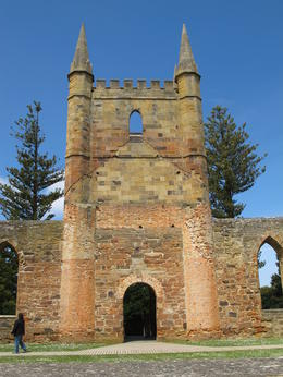 Another shot of the old church on the hill at Port Arthur. , David C - December 2010