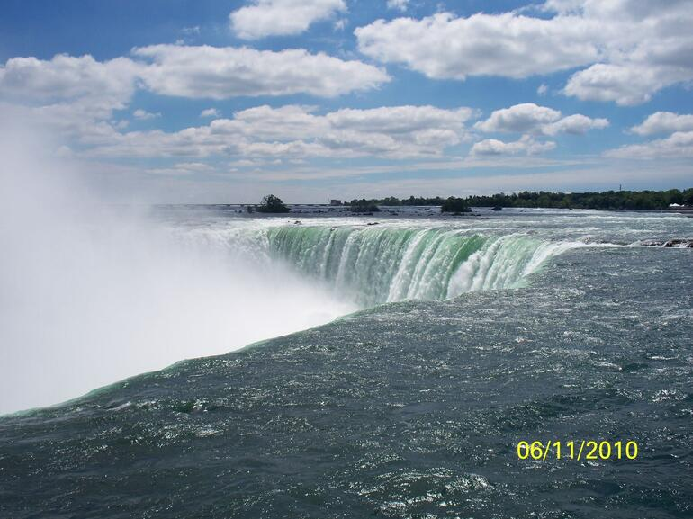 over the falls - Niagara Falls & Around