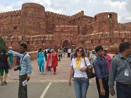 Mari Eli em visita ao Forte Agra , MARI E L D - August 2015