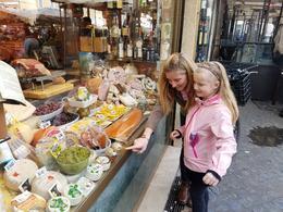 Variety of goods at popular deli near Piazza Campo di' Fiori , LAURA K - March 2017