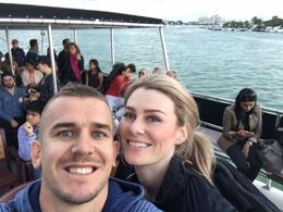Sarah and Kieran on the Biscayne Bay Cruise , Sarah M - March 2017