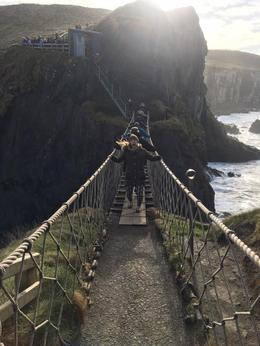 Crossing the bridge- two hands! , Chelsey L - April 2017