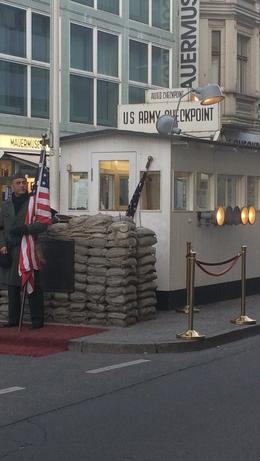Checkpoint Charlie , steven r - May 2017