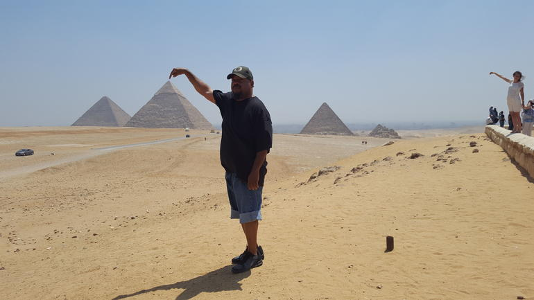 Half-Day Private tour to Pyramids of Giza and Sphinx photo 16