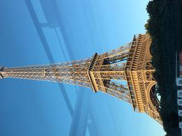 Viewing the Eiffel Tower on the cruise , David G - June 2017