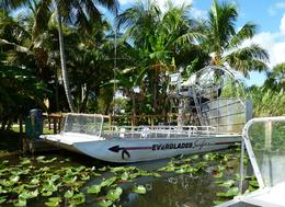 One of the airboats at the park , george - October 2013