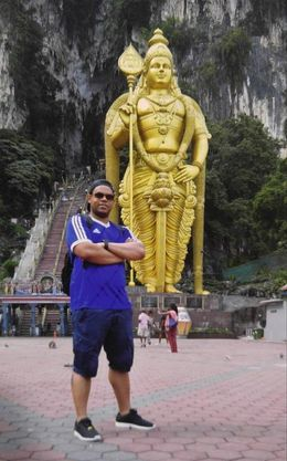 Me at the Batu Caves , Ryan M - June 2016