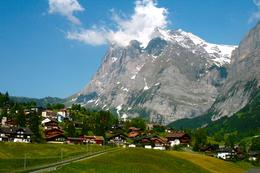 Shot taken on cogwheel train up to the peak of Jungfraujoch - June 2010