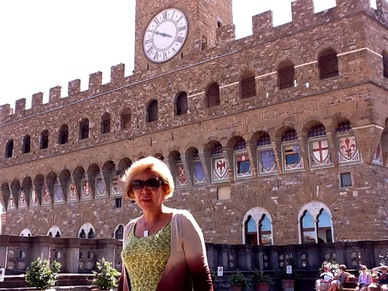 Desde la Terraza de la Galeria Uffizi - Florence