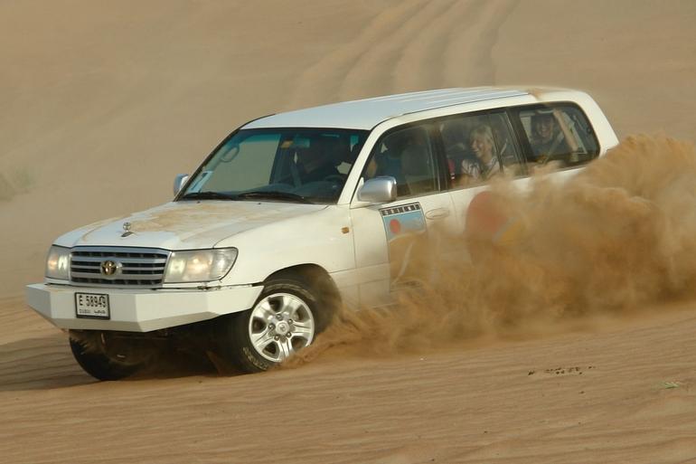 Dune Blasting - Dubai